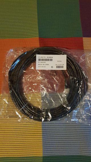 Cable de red RJ-45 CAT5 15 metros