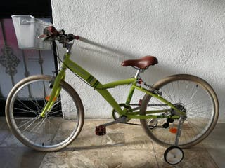 bici, 24 pulgadas btwin, decatlon