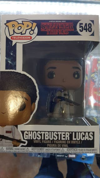 Funko Stranger Things Lucas GhostBuster
