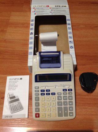 Calculadora amb impressió OLYMPIA CPD430