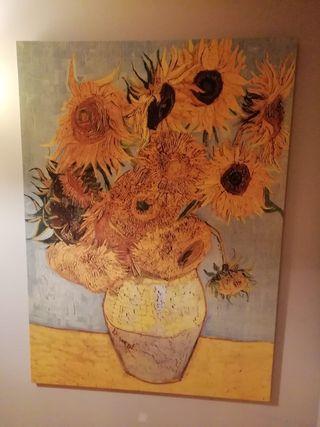 Cuadro Girasoles Van Gogh