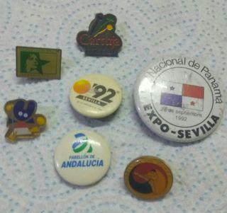 Pin, insignias.