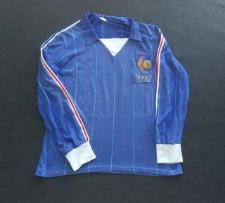 camiseta match worn Francia 1981 ventex platini?