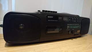 Radio cassette con Cd Sony