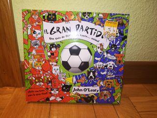 """Libro infantil """"El Gran Partidazo"""""""
