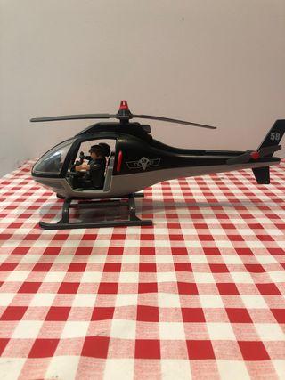 Helcoptero de policia playmobil