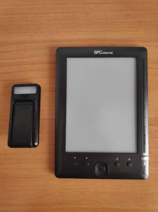 """Ebook 6"""" con luz"""