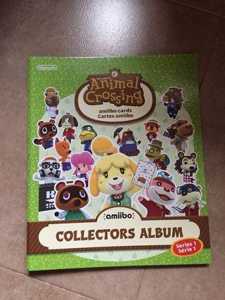 Album de tarjetas Amiibo Animal Crossing