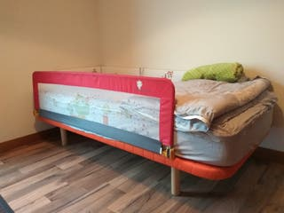 Barrera protectora cama