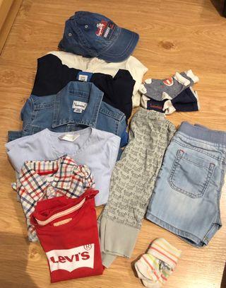 Lote ropa bebé niño talla 12 meses