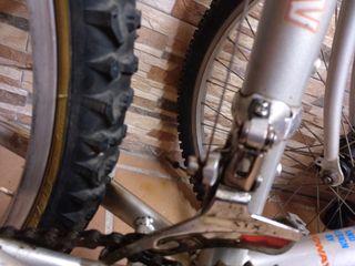 bicicleta,desviador o cambio delantero