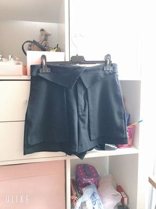 Bermuda Zara Negro talla M