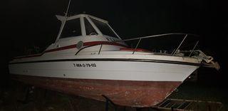 barco de fibra 6,5 metros