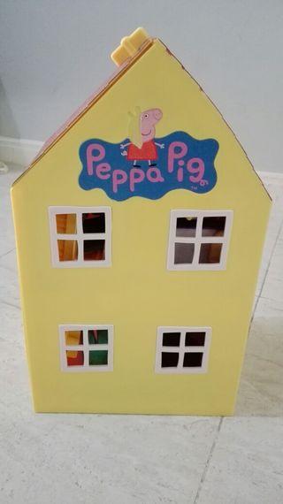 Casa, caravana y escuela Peppa Pig