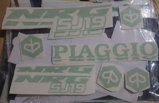 kit pegatinas Piaggio Nrg