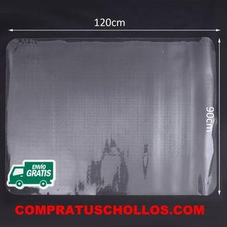 Protector de Suelo PVC Transparente 90x120cm