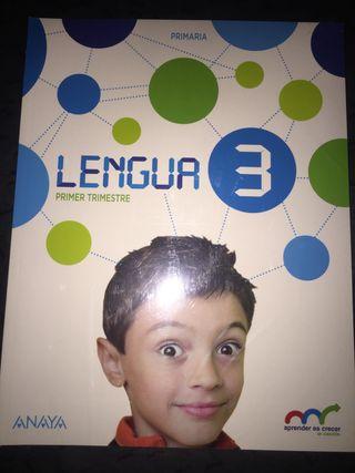 Libros NUEVOS de LENGUA ANAYA 3 de primaria
