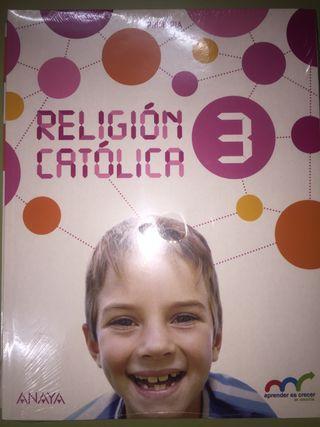 Libro NUEVO de RELIGIÓN ANAYA 3 de primaria