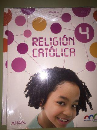 Libro NUEVO de RELIGIÓN ANAYA 4 de primaria