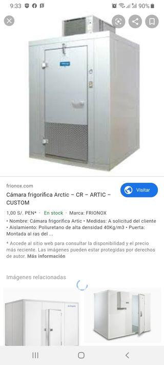 instalador de cámaras frigoríficas