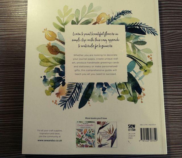 Libro: DIY Watercolor flowers (en inglés)