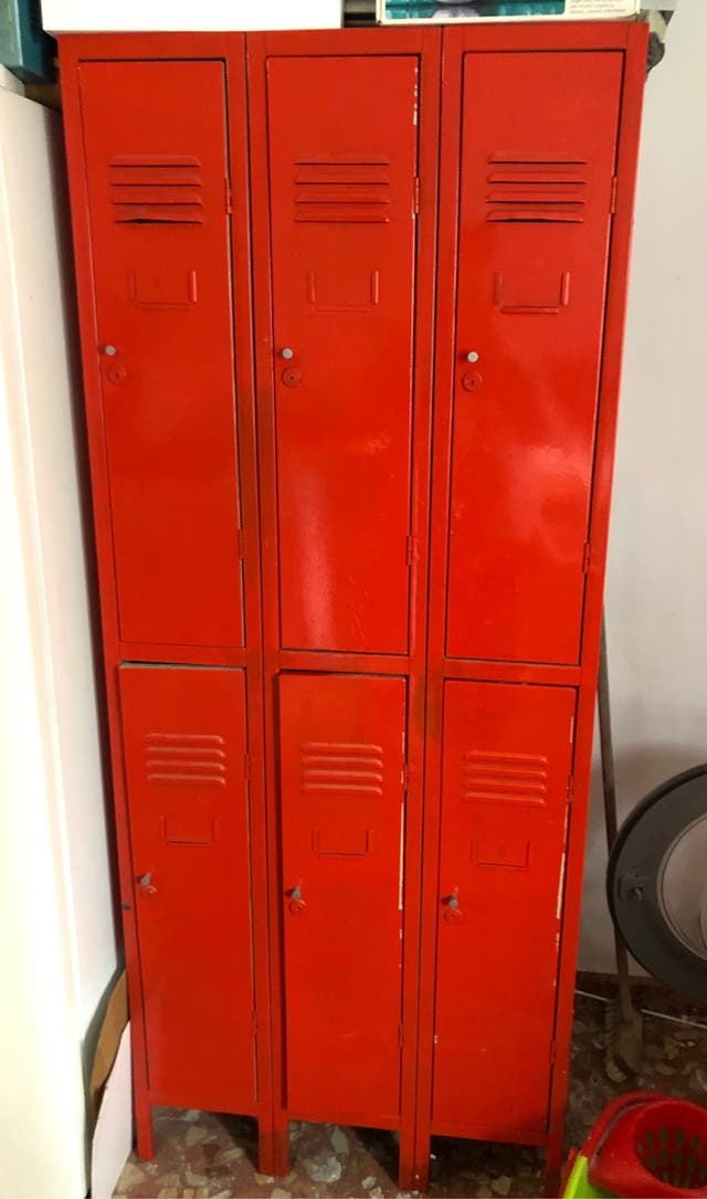 Taquilla metalica 6 puertas guardarropa