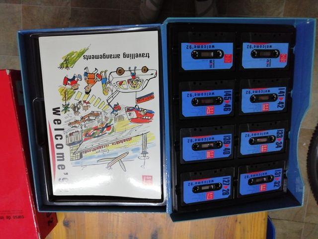 Curso inglés cassettes año 1992