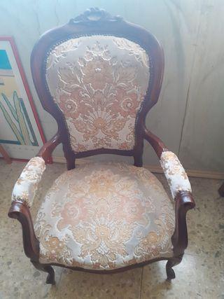 sos sillas madera estilo luis XVI