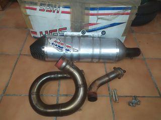 tubo de escape Hgs yamaha