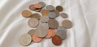 Lote de 29 monedas chinas