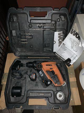 Taladro de batería Worx H3 de 12V