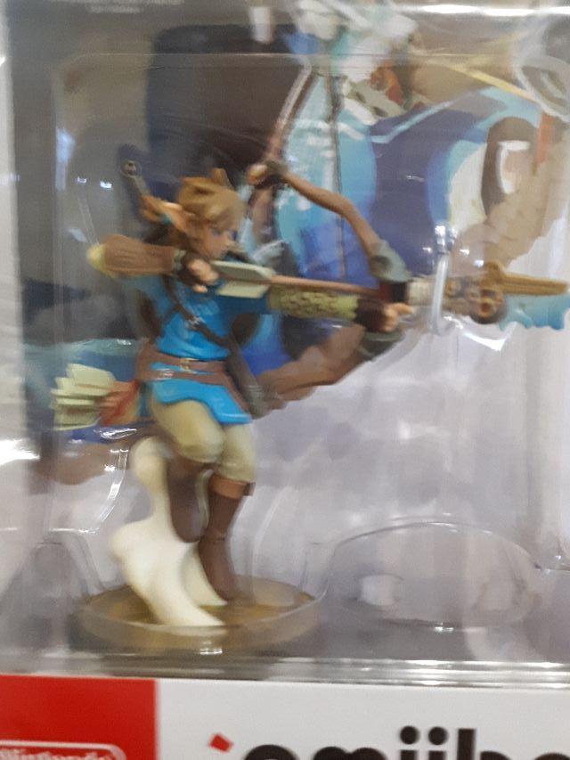 Amiibo Zelda Arquero Breath of the Wild