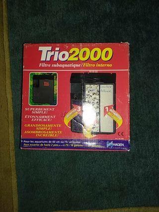 FILTRO ACUARIO HAGEN TRIO 2000