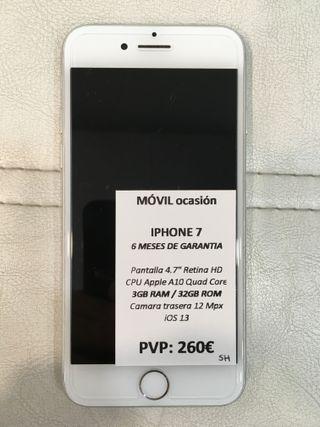 iPhone 7 32Gb con garantía