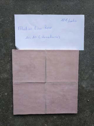 azulejo porcelanico vieux rose