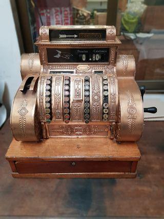 antigua caja registradora national en pesetas 1903