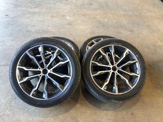 """Ruedas originales BMW 20"""" X3 G01 o X4 G02"""
