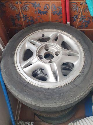 """4 Llantas 14"""" Aluminio"""
