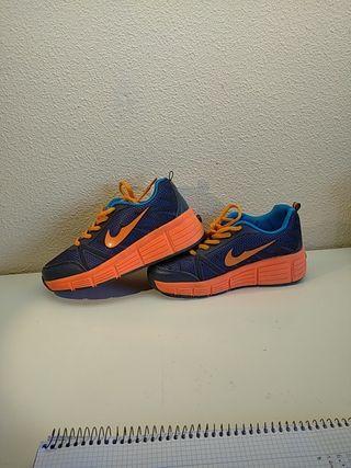 zapatillas ruedas talla 37