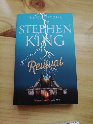 libro Revival en Inglés de Stephen King
