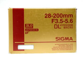 Sigma 28-200mm F3.5-5.6 HZ ASP MACRO para Nikon