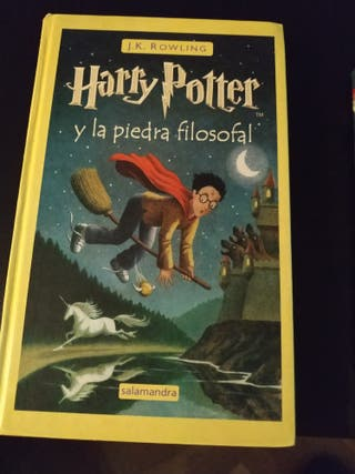 Harry Potter y la piedra filosofal. j.k rowling
