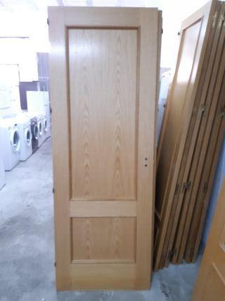 puertas madera casa -