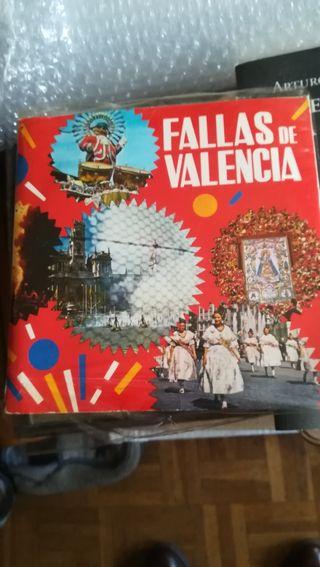 Fallas en Valencia, Vinilo con libreto de Valencia