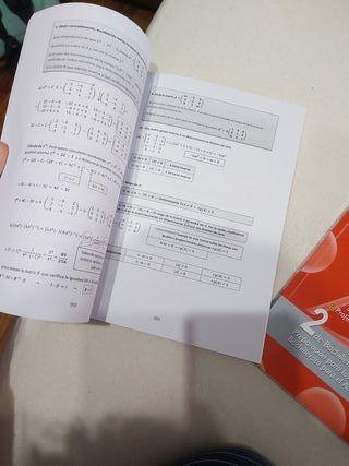 """Libros """"unas matemáticas para todos"""" Acad. Osorio"""