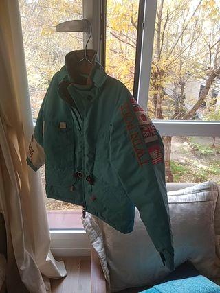 abrigo plumas Napapijri niño 4-6 años