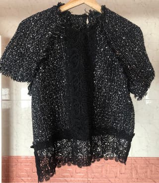Camisa tipo chanel