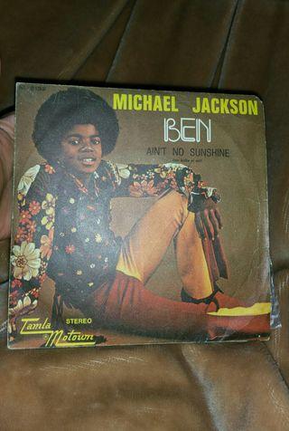 Disco Vinilo Ben Michael Jackson