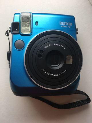 Cámara Fujifilm Instax Mini 70 Azul Isla