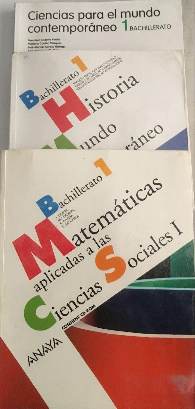 Libros 1Bachillerato